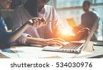 creative team working on a...   Shutterstock . vector #534030976