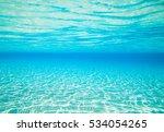 underwater scene with copy space | Shutterstock . vector #534054265