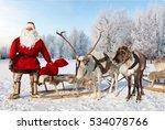 Santa Claus Are Near His...