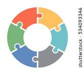 infographics. vector diagram.... | Shutterstock .eps vector #534093346