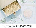 beauty or cosmetics gift set... | Shutterstock . vector #534096736