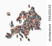 people map country europe vector | Shutterstock .eps vector #534103132