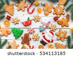 Christmas Cookies With Festive...