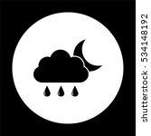 weather icon    black vector... | Shutterstock .eps vector #534148192