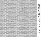 seamless brick wall background  ... | Shutterstock .eps vector #534159142