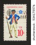 usa   circa 1975  a stamp... | Shutterstock . vector #534175576