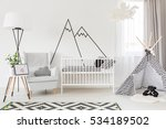 Light Functional Baby Room Wit...