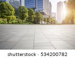 empty floor with modern... | Shutterstock . vector #534200782