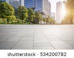 empty floor with modern... | Shutterstock . vector #534200782