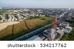 aerial view of antenna... | Shutterstock . vector #534217762