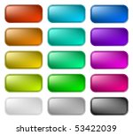 color buttons 2 | Shutterstock .eps vector #53422039
