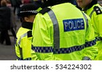 british police officers in hi... | Shutterstock . vector #534224302