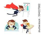 vector illustration happy...   Shutterstock .eps vector #534227002
