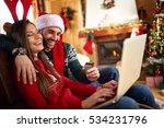 couple practice internet... | Shutterstock . vector #534231796