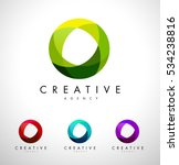 circle  circular corporate logo.... | Shutterstock .eps vector #534238816