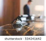 service bell locating at... | Shutterstock . vector #534241642