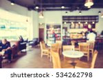 abstract blur coffee shop and...   Shutterstock . vector #534262798