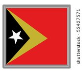 flag of eastern timor with... | Shutterstock .eps vector #53427571