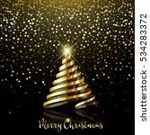 decorative christmas background ...   Shutterstock .eps vector #534283372