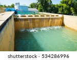 water treatment plants of the... | Shutterstock . vector #534286996