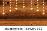 garlands of lights with...   Shutterstock . vector #534293932