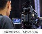 covering an event with a video... | Shutterstock . vector #534297346