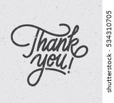 """thank you"" digital lettering.... 