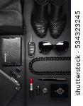 woman accessories in business... | Shutterstock . vector #534323245