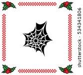 web line icon. spiderweb  web... | Shutterstock .eps vector #534341806