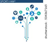 sport mechanism concept.... | Shutterstock .eps vector #534367165