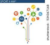 sport mechanism concept.... | Shutterstock .eps vector #534367168