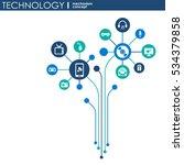 technology mechanism concept.... | Shutterstock .eps vector #534379858