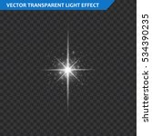 transparent glow light effect.... | Shutterstock .eps vector #534390235