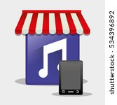 mobile music online shop...