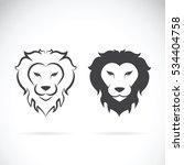 vector of a lion head design on ...   Shutterstock .eps vector #534404758
