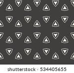 vector seamless pattern. modern ... | Shutterstock .eps vector #534405655