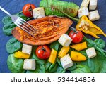 Salad With Grilled Vegetables ...