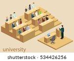 isometric flat 3d concept... | Shutterstock .eps vector #534426256