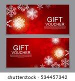 gift voucher template for... | Shutterstock .eps vector #534457342