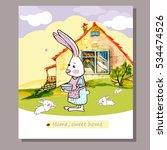 vector cartoon illustration... | Shutterstock .eps vector #534474526