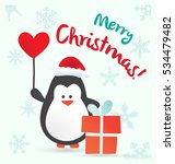 merry christmas greeting card... | Shutterstock .eps vector #534479482