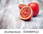 Sicilian Orange Isolated On A...
