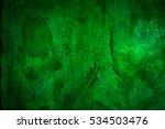 green concrete wall abstract... | Shutterstock . vector #534503476