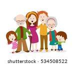 vector illustration of a family ... | Shutterstock .eps vector #534508522