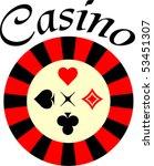 Vector Illustration Of Casino...