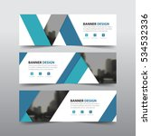 blue abstract label corporate... | Shutterstock .eps vector #534532336