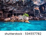 phi phi island  krabi thailand. | Shutterstock . vector #534557782