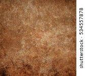 brown designed grunge texture.... | Shutterstock . vector #534557878