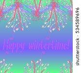 abstract zentangle inspired art ... | Shutterstock . vector #534589696