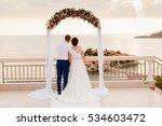 Destination Wedding Couple At...